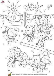 Bricolage pour le 14 juillet aux petites trouvailles - Kermesse dessin ...