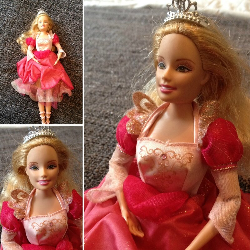 Barbie danseuse 3€