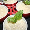 Riz au lait coing cannelle