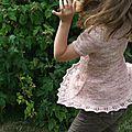Tenue d'été tricot et couture