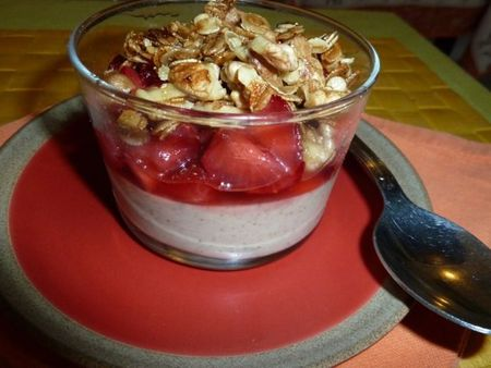 verrine menthe fraise
