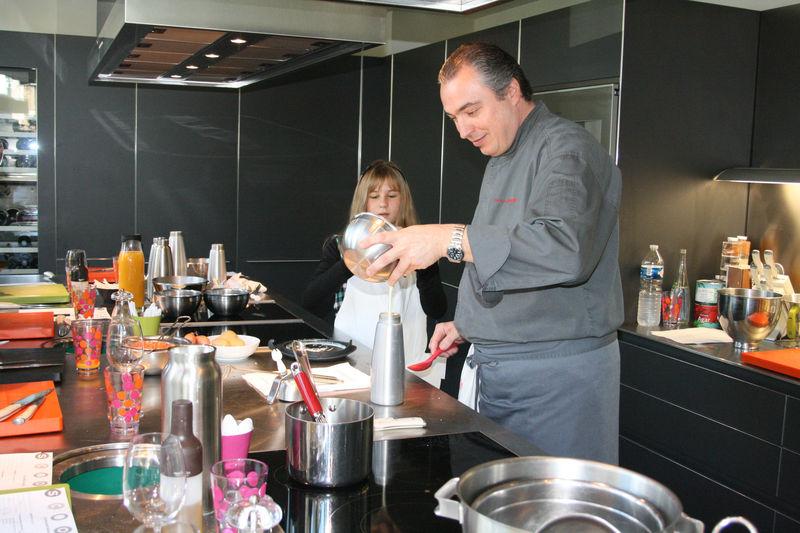 Un Petit Moment De Technique Culinaire Au Siphon Cette Fois