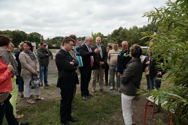 INSERTION JARDINS SOLIDAIRES 2014 visite élus