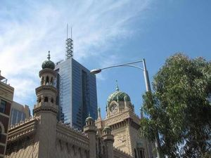Melbroune_old_and_new