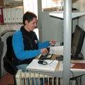 Simona au bureau