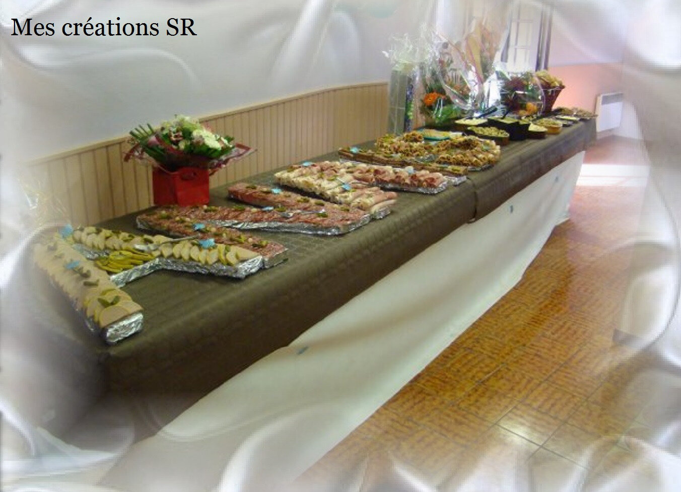 Decoration de table pour buffet froid - Decoration legumes pour buffet ...