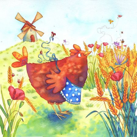 red hen cover-