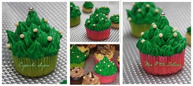 cupcake sapin