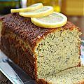 Cake à l'huile d'olive, citron et graines de pavot {recette en vidéo + jeu inside avec 1 thermomix à gagner}