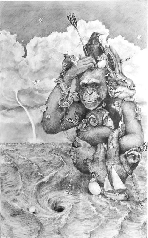 Large_Chimp_In_The_Clouds
