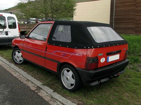 fiat uno 70 ie cabriolet 1990 1993 bourse de soultzmatt 2012 4