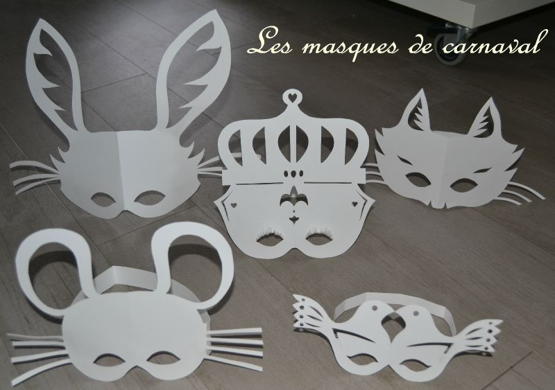 comment faire un masque de carnaval en papier 3 les masques de carnaval en papier. Black Bedroom Furniture Sets. Home Design Ideas