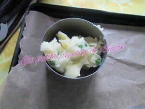 Parmentier de Crevettes roses et petits pois40