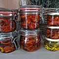 conserves tomates séchées-déshydratées www.passionpotager.canalblog.com