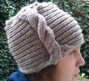 Bonnet cloche 1