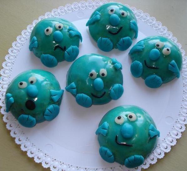 Mini gâteaux Bébés monstres