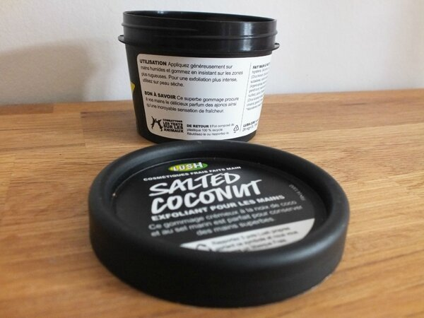 4 Lush Salted Coconut