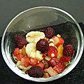 salade de fruit croquante