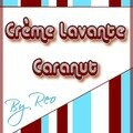 etiquette caranut creme lavante