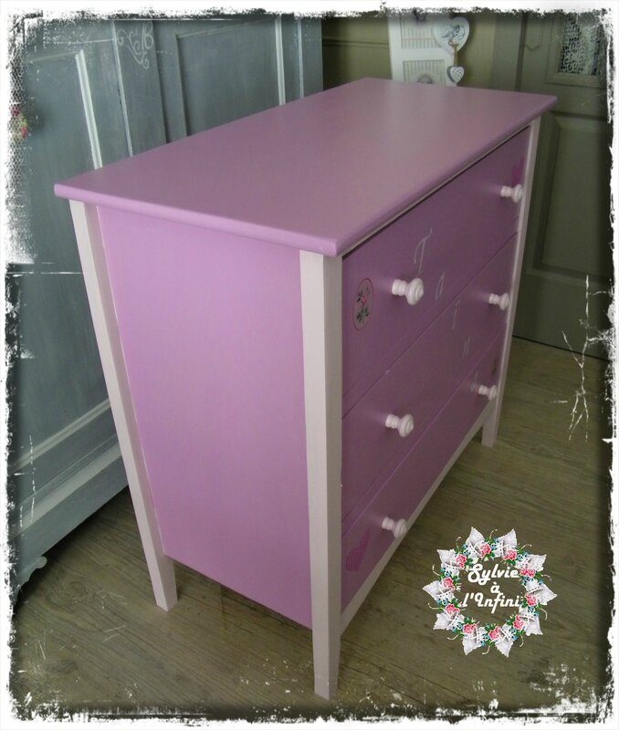 Relook commode pour Taïna (2)