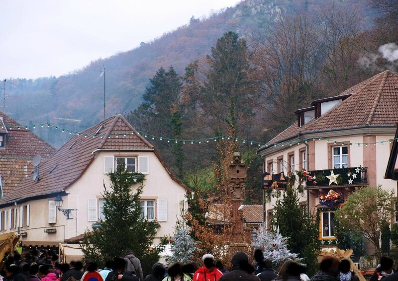 MARCHE NOEL MEDIEVAL RIBEAUVILLE 012