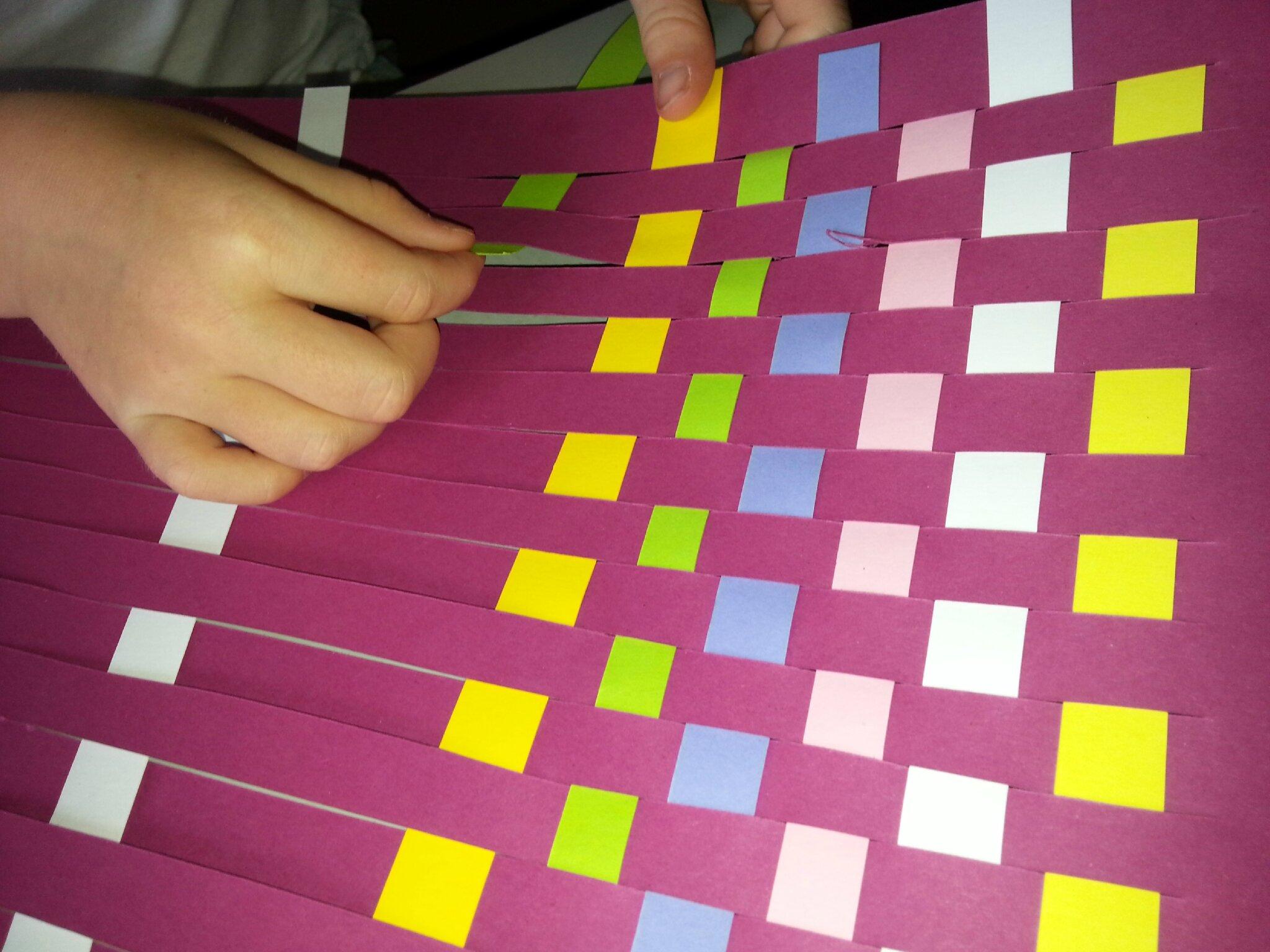 Panier à Tisser Maternelle : Cadre tisser extra ordinaire le de lily