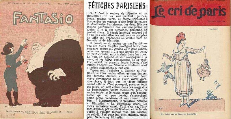 Nénette et Rintintin - Presse 1918 2