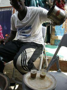 la façon de boire de thé