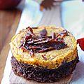 Douceur d'automne, chocolat noir et potimarron