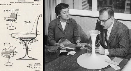 Eero_Saarinen_and_Florence_Knoll