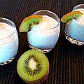 Smoothie au kiwi et lait de coco