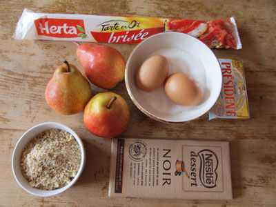 tarte_poire_ingredients