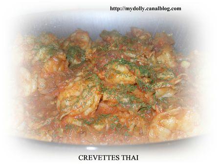 CREVETTES THAI