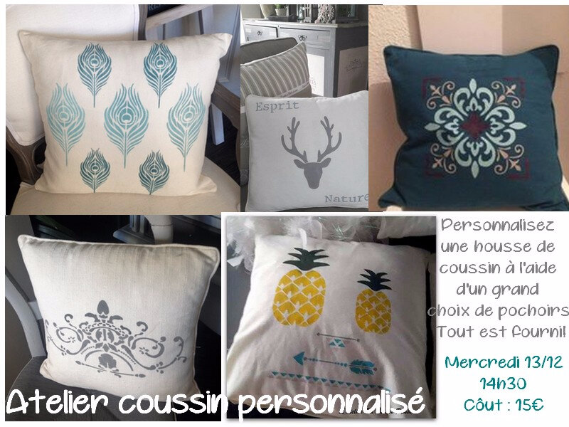 atelier coussin