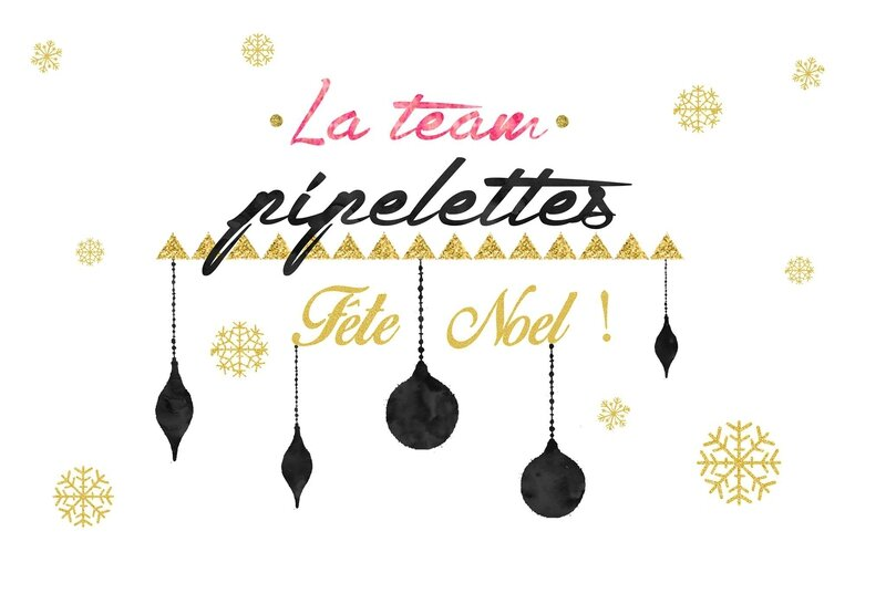 #NoelTeamPipelettes