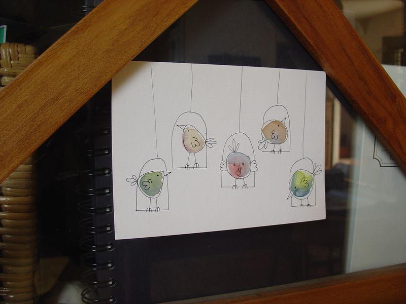 dessine moi un oiseau