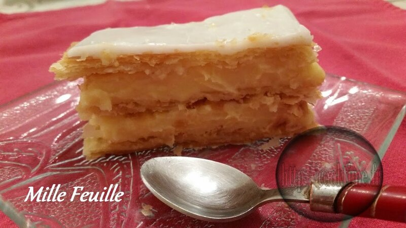 Mille feuille Thermomix
