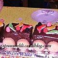 Mon premier gâteau train !