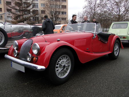 MORGAN Plus 8 Roadster Retrorencard 1