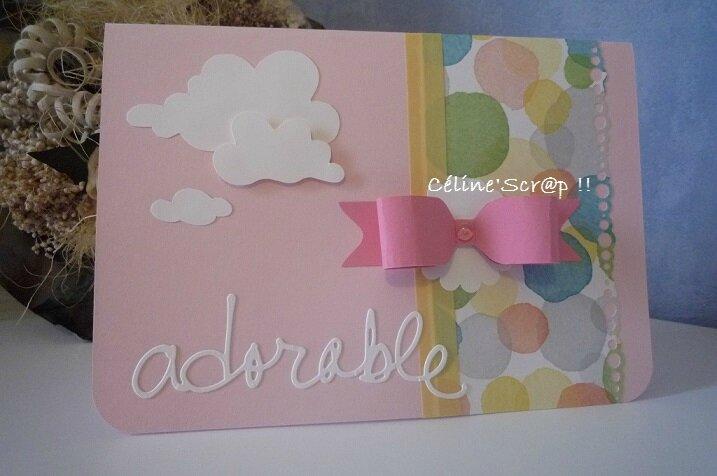Carte cadeau naissance 1