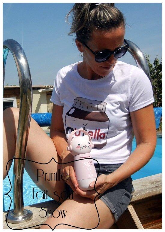 t-shirt et gourde prunillefee 3