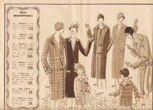 Mode féminine 3 - 1930 vintage