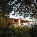 Sympa la terrasse sur le Lycabeth...