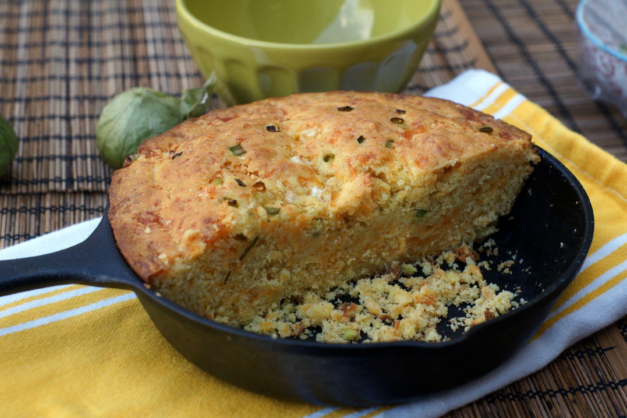 Cornbread (pain de mais) : Le pousse-chili