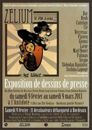 Affiche soire Zlium