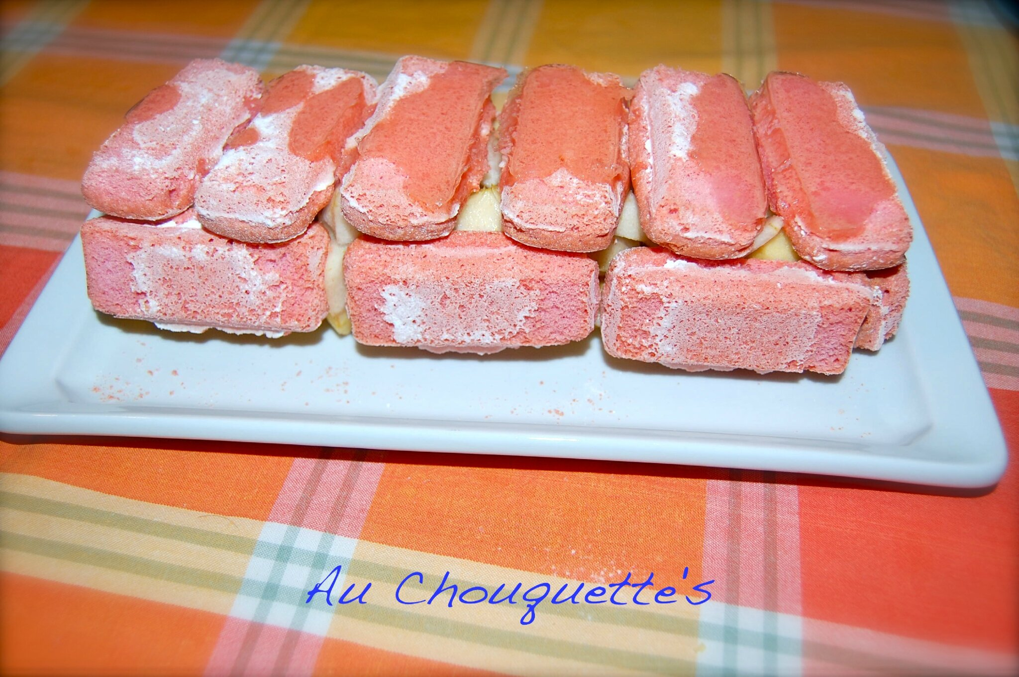 Charlottes Aux Biscuits Roses Pommes Poires Au Chouquette S