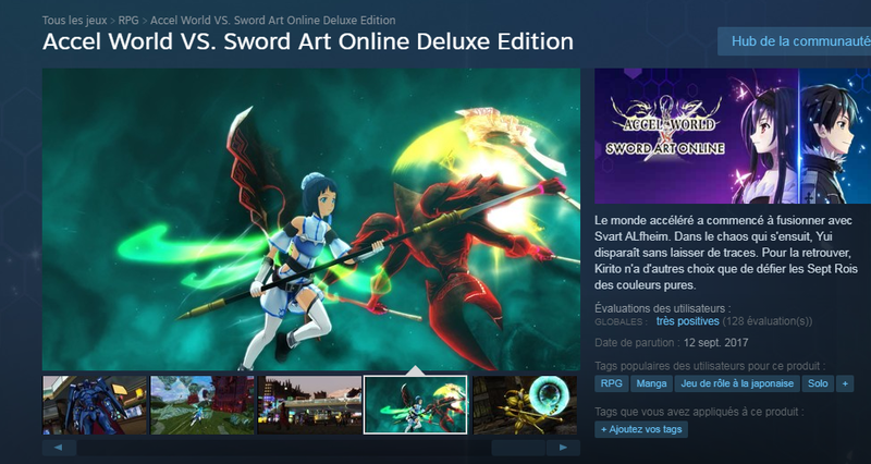 AW VS SAO Steam