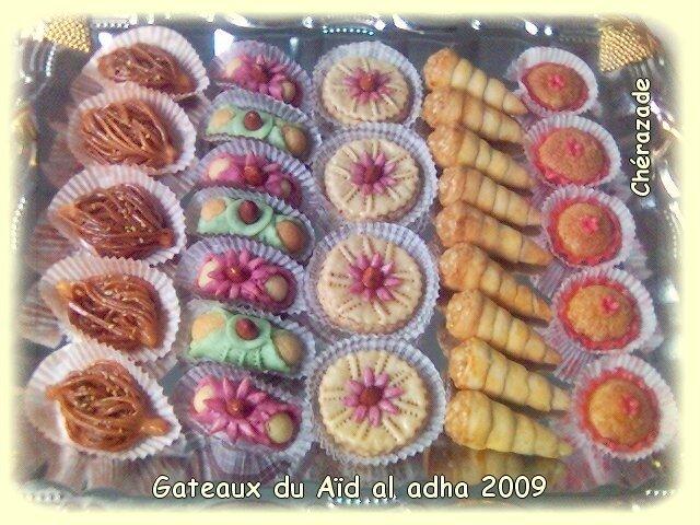 gateaux aïd al adha 2009