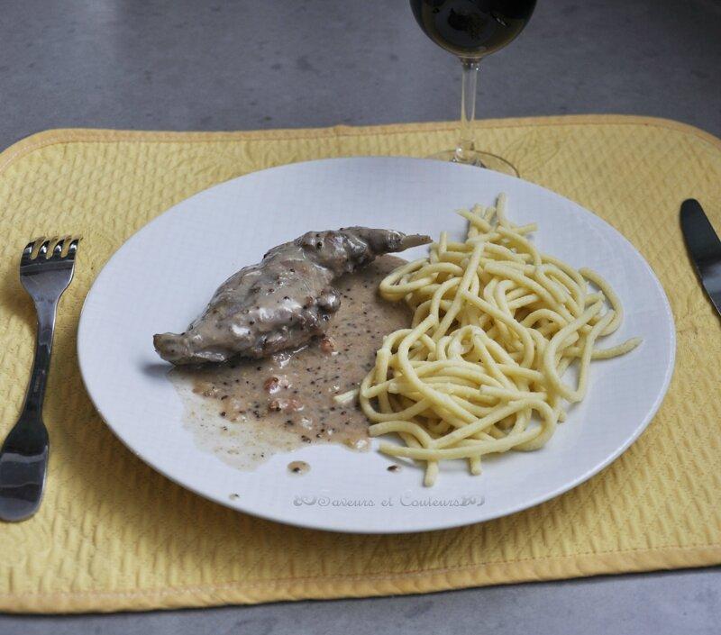 Garenne assiette