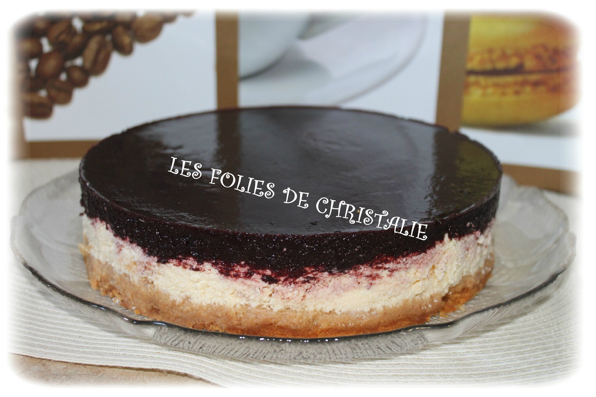 Cheesecake citron cassis 11